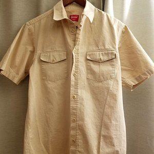 Supreme Tan Short Sleeve Work Shirt